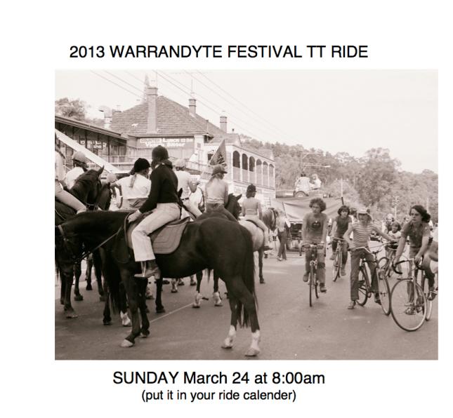 Festival Bike TT